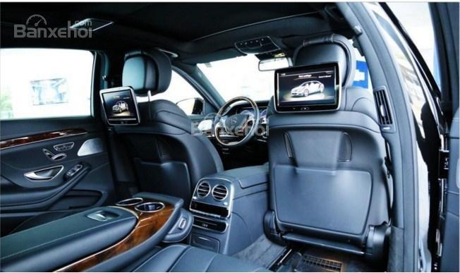 Đánh giá xe Mercedes-Benz S400L 2015 phần tiện ích 2