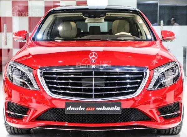 Đánh giá xe Mercedes-Benz S400L 2015 phần đầu xe 1