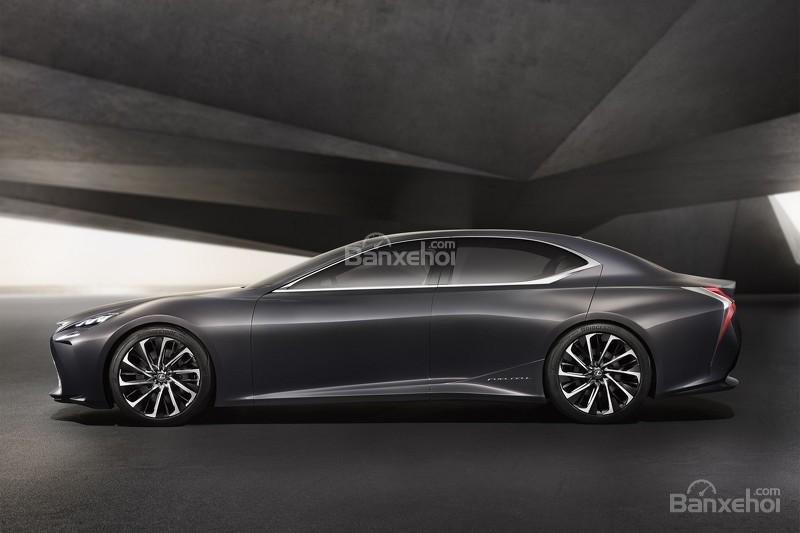 hình ảnh của concept Lexus LF-FC.