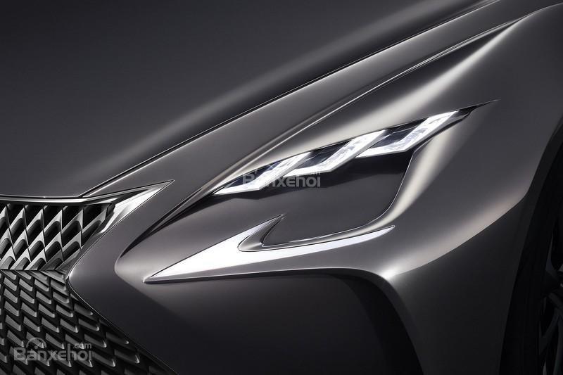 hình ảnh của concept Lexus LF-FC A3.