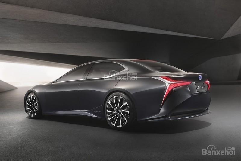 hình ảnh của concept Lexus LF-FC A.