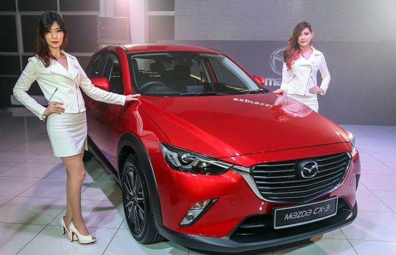 Mazda CX-3 phân phối tại Malaysia được trang bị động cơ SKYACTIV-G 2.0L.