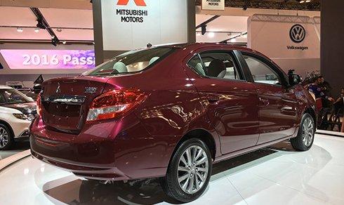 Mitsubishi Mirage phiên bản sedan chính thức trình làng 6