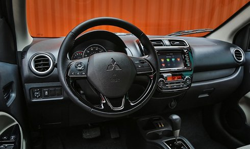 Mitsubishi Mirage phiên bản sedan chính thức trình làng 8