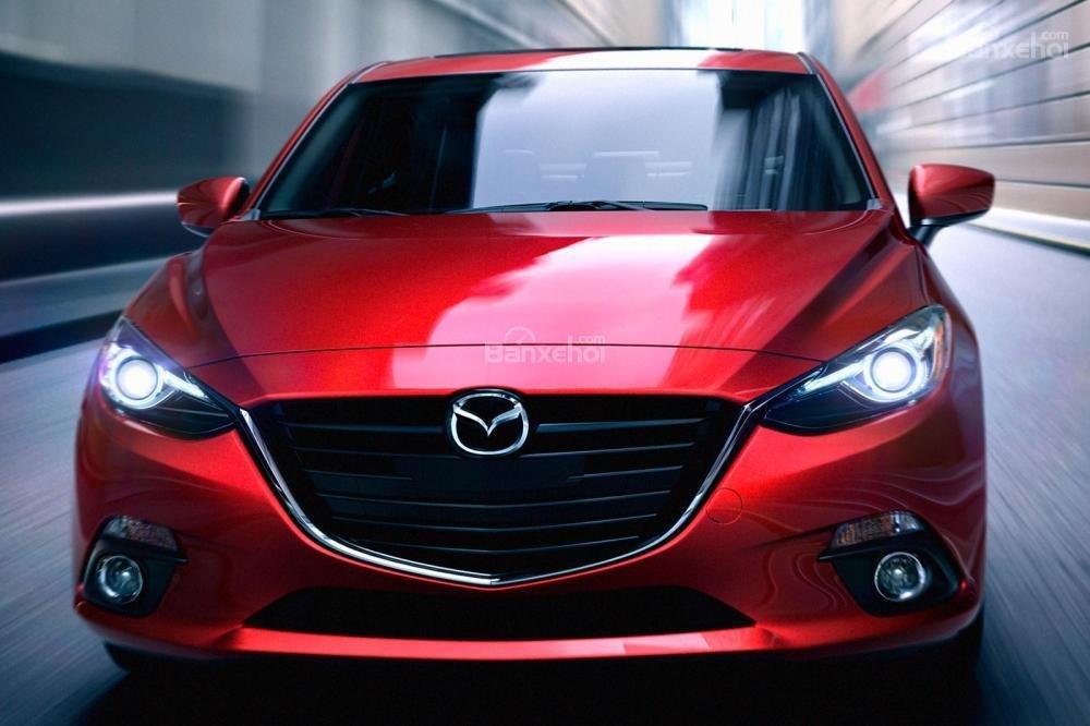 Đánh giá xe Mazda 3 2016 phần đầu xe 1