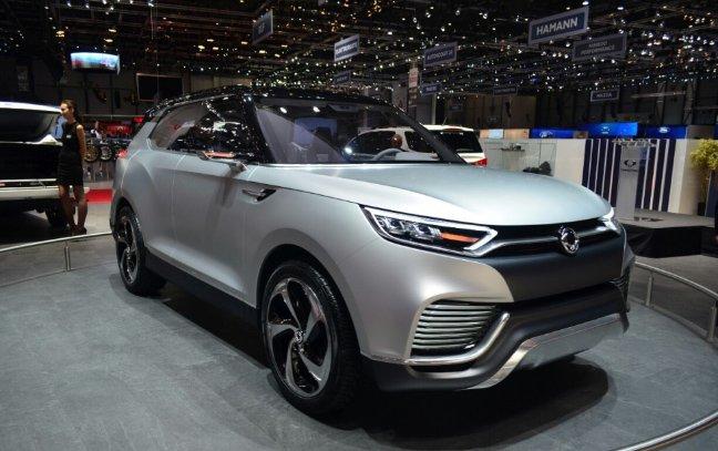 SUV 7 chỗ Ssangyong Tivoli XLV hé lộ trước thềm triển lãm Geneva 2016 1