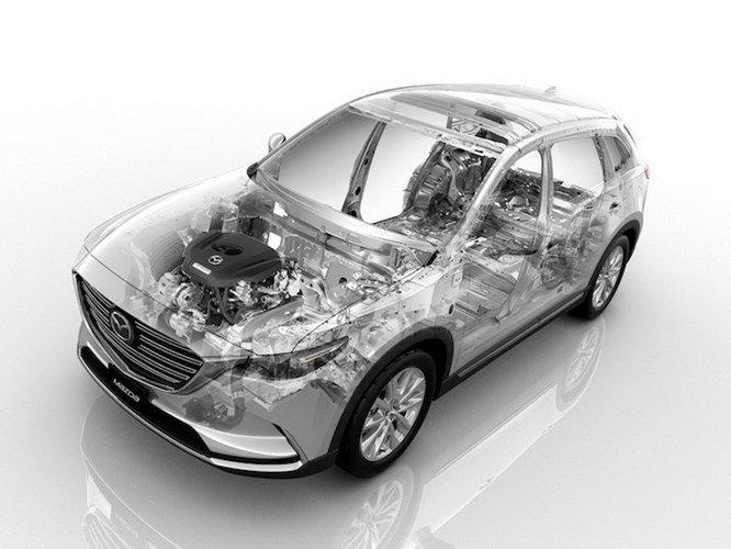 Khám phá những điểm hấp dẫn trên Mazda CX-9 thế hệ mới 9