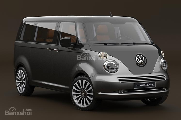"""Volkswagen T1 """"hiện hình"""" sống động trong mô hình kỹ thuật số 1"""