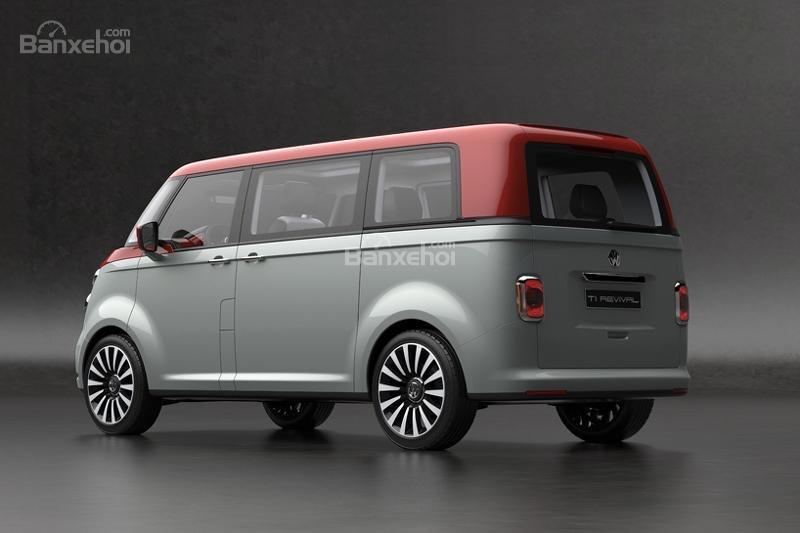 """Volkswagen T1 """"hiện hình"""" sống động trong mô hình kỹ thuật số 8"""
