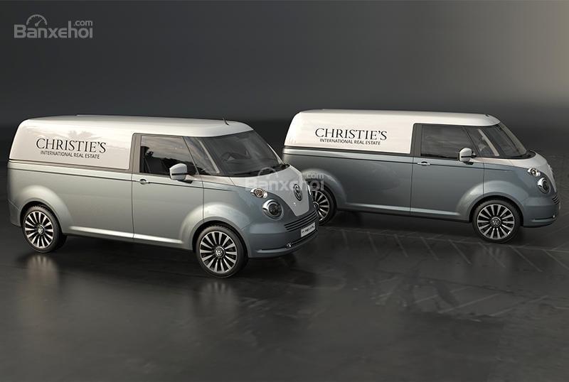 """Volkswagen T1 """"hiện hình"""" sống động trong mô hình kỹ thuật số 10"""
