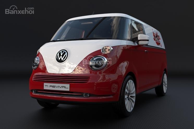 """Volkswagen T1 """"hiện hình"""" sống động trong mô hình kỹ thuật số 11"""