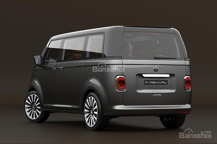 """Volkswagen T1 """"hiện hình"""" sống động trong mô hình kỹ thuật số 6"""