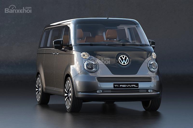 """Volkswagen T1 """"hiện hình"""" sống động trong mô hình kỹ thuật số 2"""
