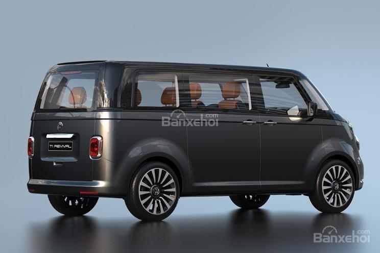 """Volkswagen T1 """"hiện hình"""" sống động trong mô hình kỹ thuật số 3"""