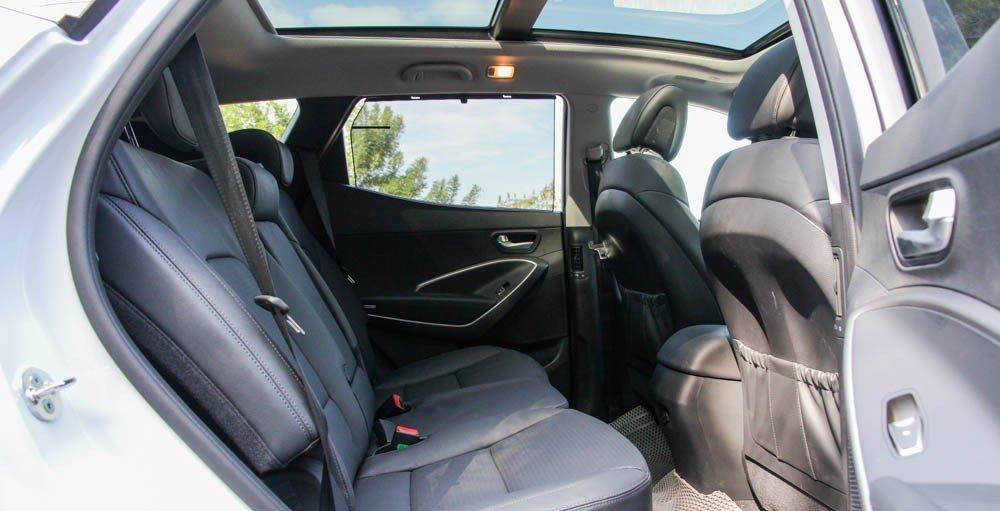 Ghế ngồi của Hyundai Santa Fe 2015.