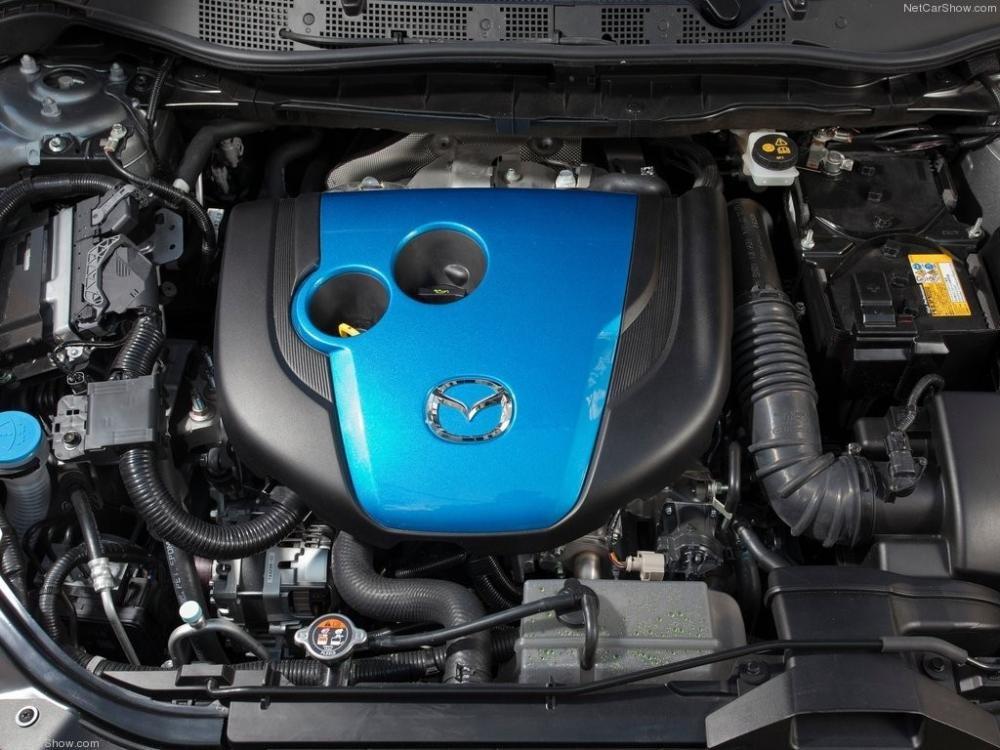 So sánh xe Mazda CX-5 2014 và Hyundai Santa Fe 2015 về trang bị động cơ.