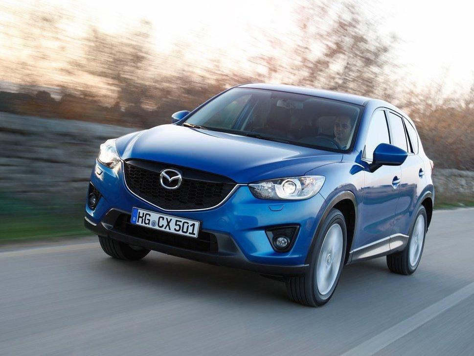 Mazda CX-5 2014 cho cảm giác vận hành tốt ở mọi loại địa hình.