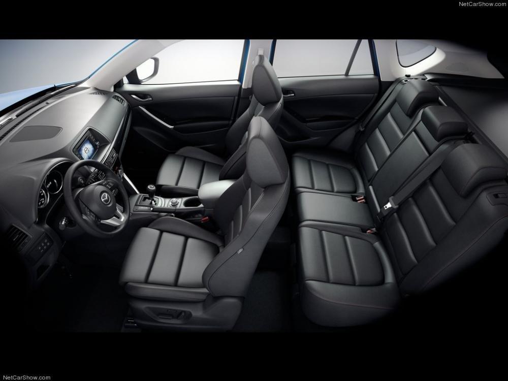 Ghế ngồi của Mazda CX-5 2014.