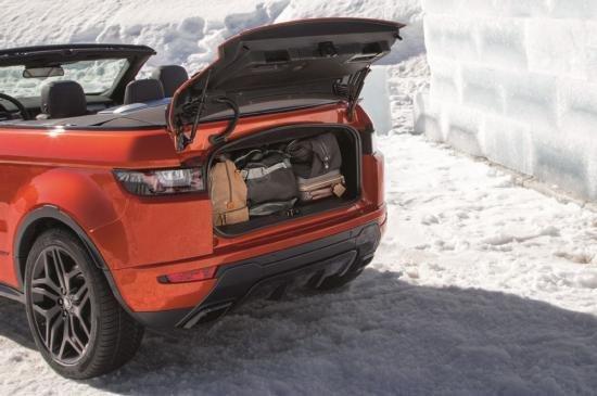 Land Rover Range Rover Evoque Convertible.