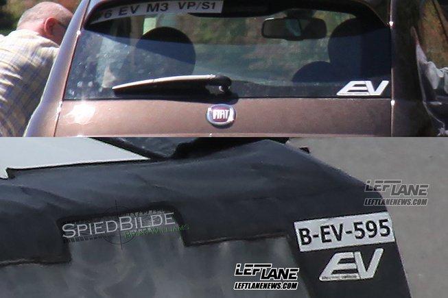 Có thể thấy logo EV trên cửa cốp xe của chiếc Chrysler Pacifica 2017 được ngụy trang 2