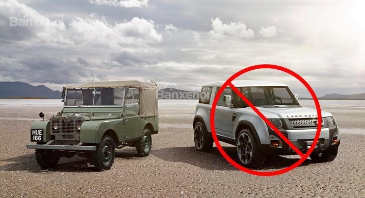 Land Rover Defender mới hoãn kế hoạch sản xuất.
