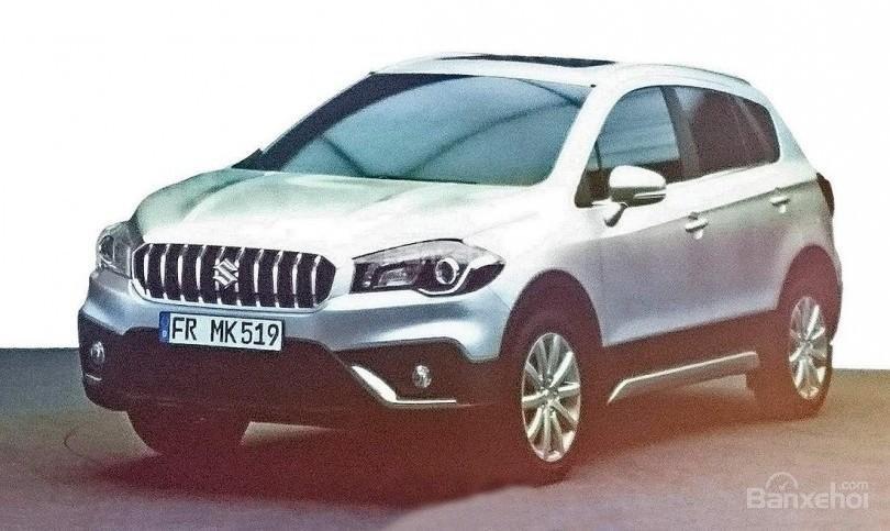 Suzuki SX4 S-Cross facelift rò rỉ hình ảnh trước ngày ra mắt.