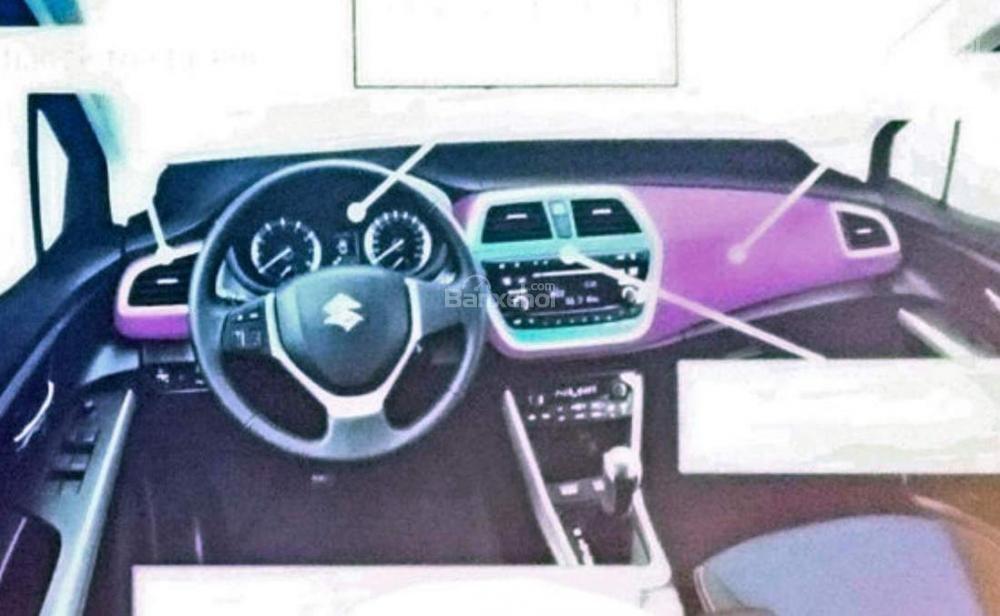 Suzuki SX4 S-Cross facelift rò rỉ hình ảnh trước ngày ra mắt 1