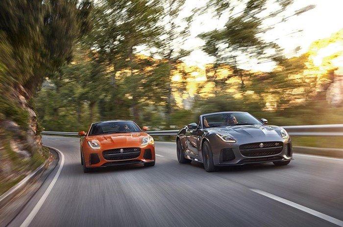 Jaguar F-Type SVR 2017 bắt đầu nhận đặt hàng từ hôm nay.
