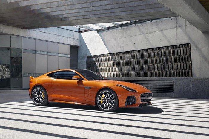 Jaguar F-Type SVR Coupe.