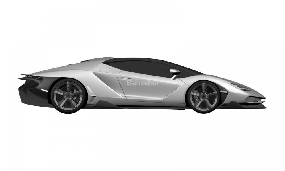 Hình ảnh của một mẫu xe được phát triển dựa trên Lamborghini Aventador đã bị rò rỉ