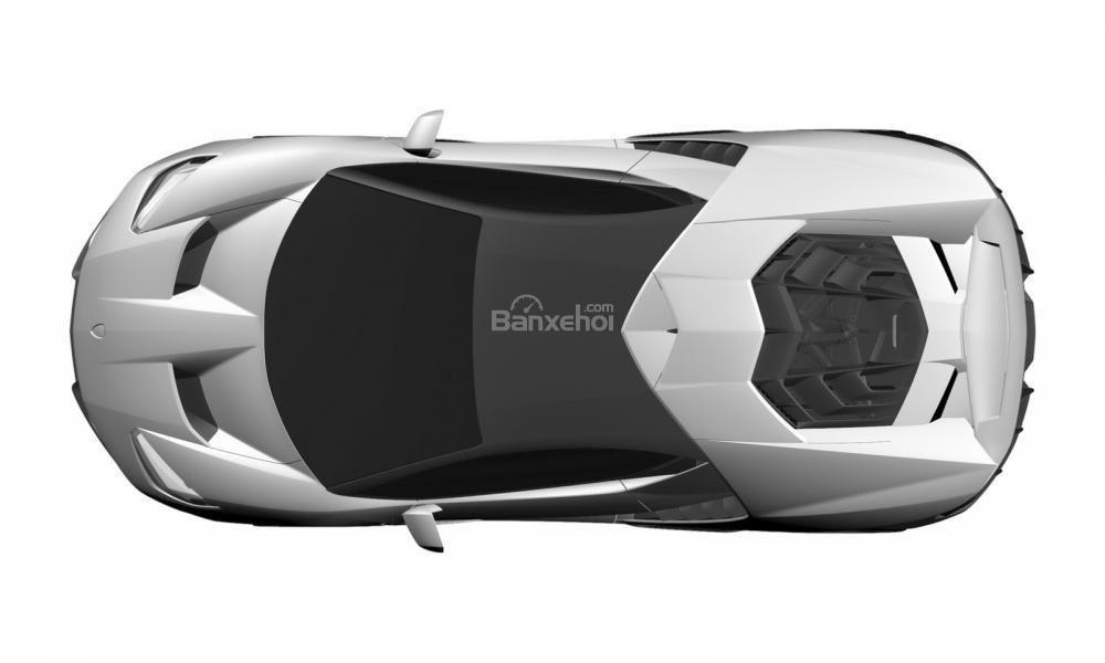 Hình ảnh của một mẫu xe được phát triển dựa trên Lamborghini Aventador đã bị rò rỉ  1