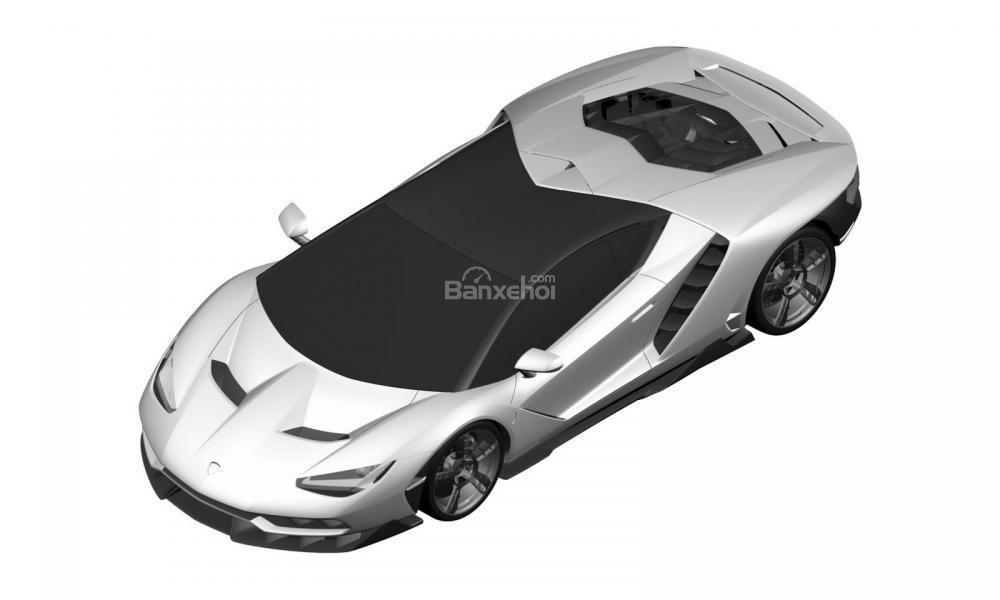 Hình ảnh của một mẫu xe được phát triển dựa trên Lamborghini Aventador đã bị rò rỉ  2