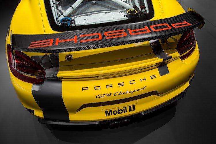 Xe thể thao Porsche Cayman GT4 Clubsport chính thức ra mắt 8