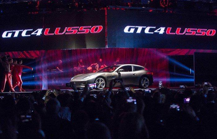 Ferrari GTC4Lusso ra mắt thế giới trong sự chào đón của 1000 khách VIP 1