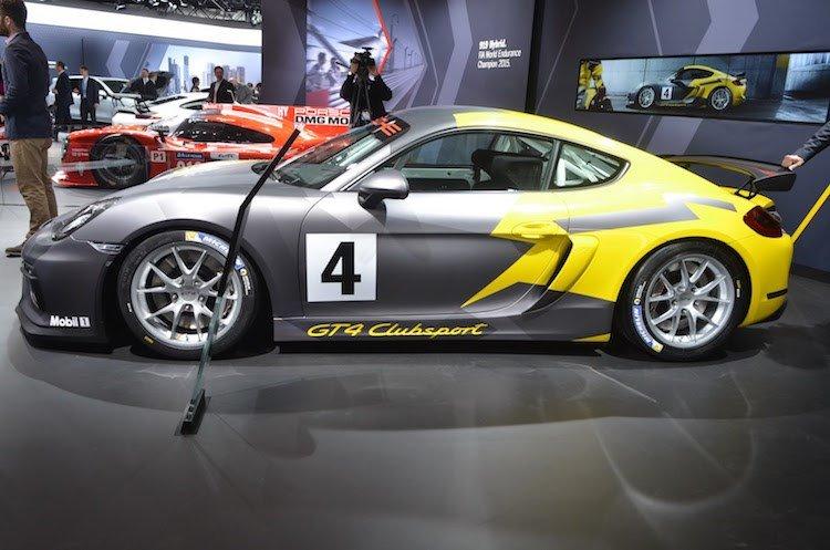 Xe thể thao Porsche Cayman GT4 Clubsport chính thức ra mắt 6