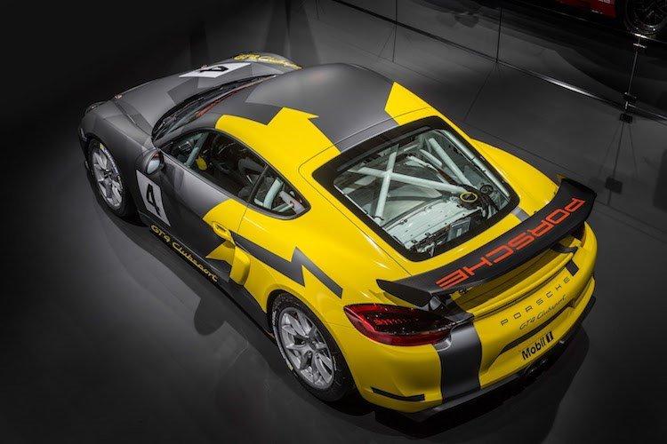 Xe thể thao Porsche Cayman GT4 Clubsport chính thức ra mắt 2
