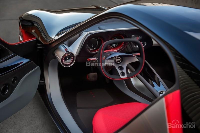 Chiêm ngưỡng Opel GT Concept với nội thất không nút bấm