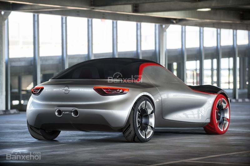 Opel GT Concept đuôi xe