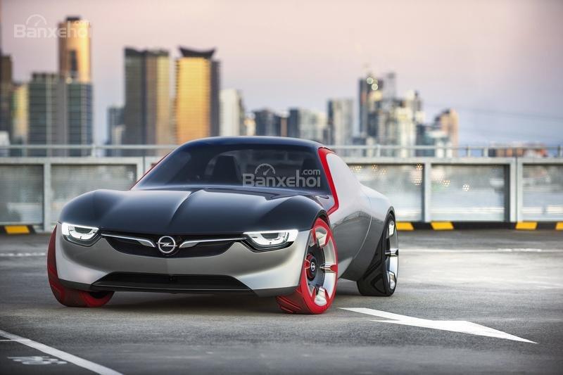 Opel GT Concept mũi xe