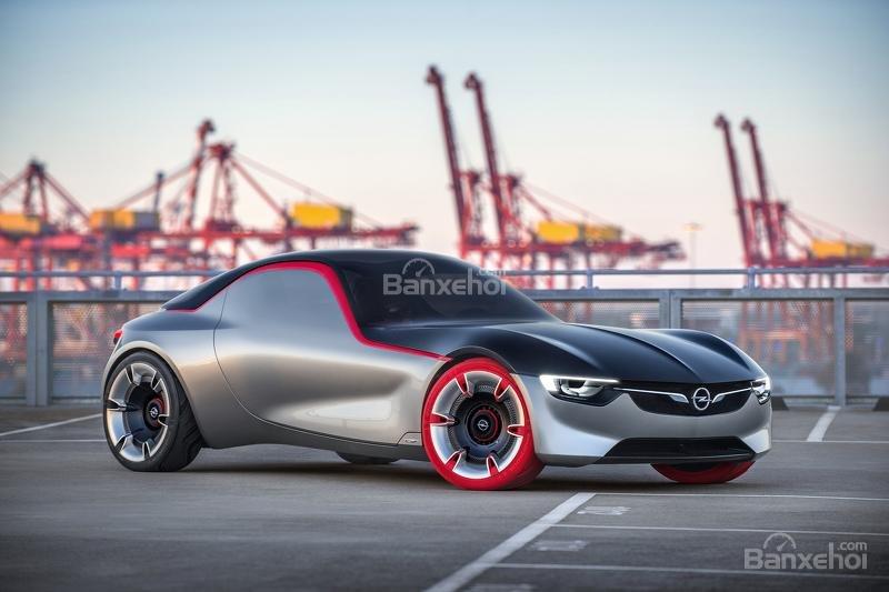 Opel GT Concept ngoại thất 5