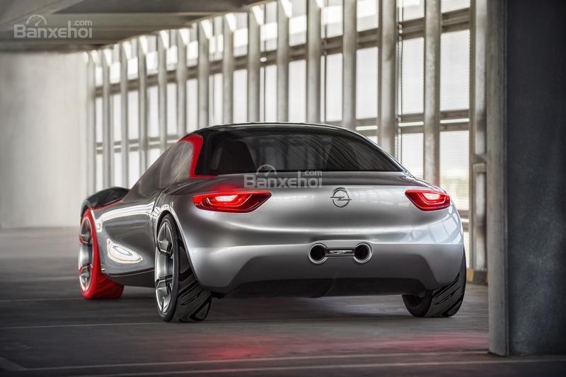 Opel GT Concept đuôi xe 3