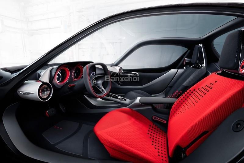 Opel GT Concept nội thất