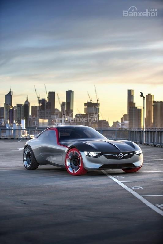Opel GT Concept ngoại thất