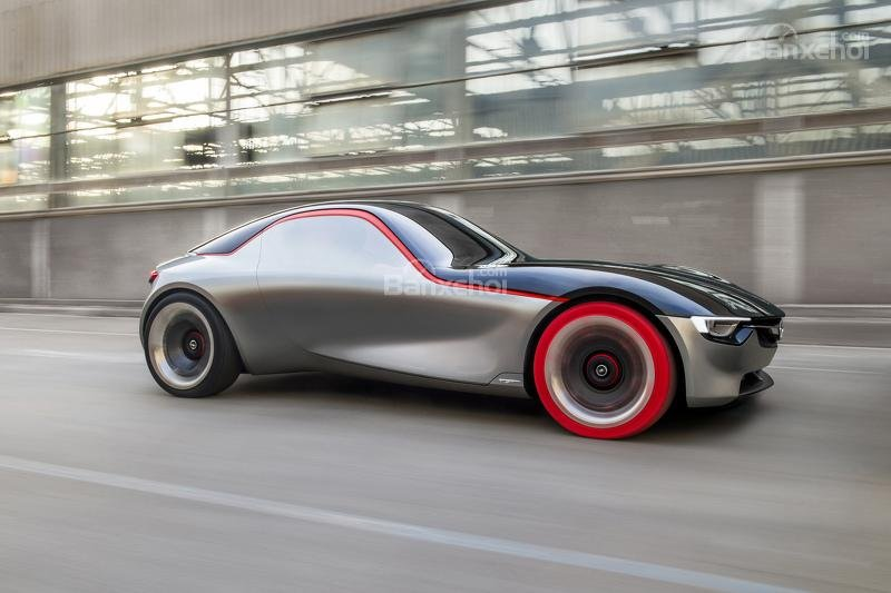 Opel GT Concept ngoại thất 2