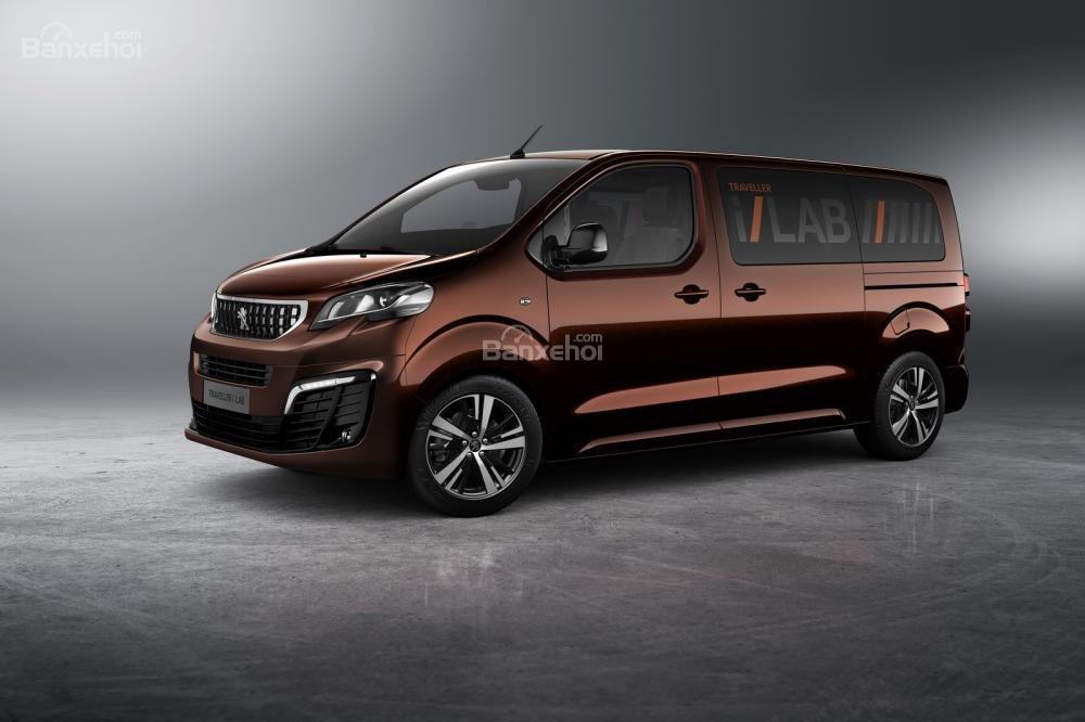 Siêu phẩm thứ hai của Peugeot sẽ là chiếc Traveller i-Lab 2016 2