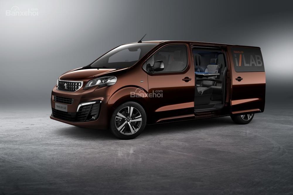 Siêu phẩm thứ hai của Peugeot sẽ là chiếc Traveller i-Lab 2016 3