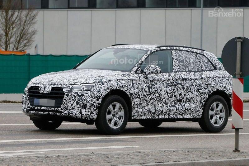 Audi Q5 2017 sở hữu lưới tản nhiệt và đèn pha mới 2