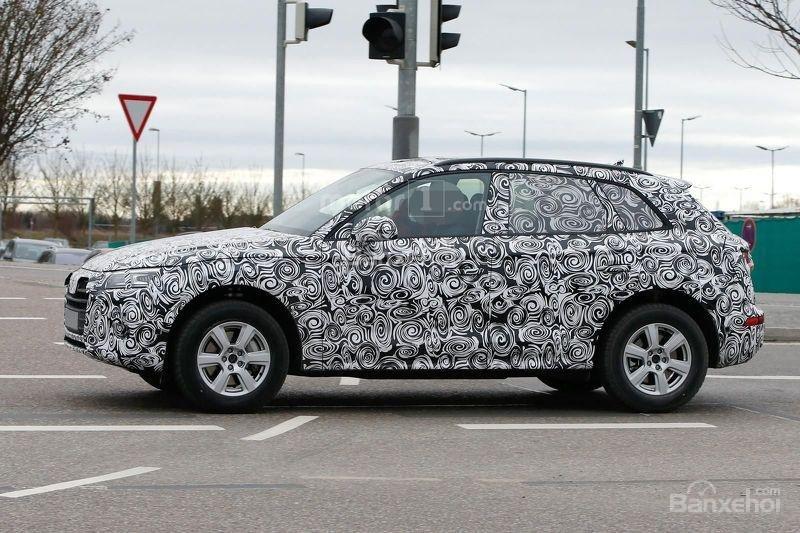 Audi Q5 2017 sở hữu lưới tản nhiệt và đèn pha mới 3