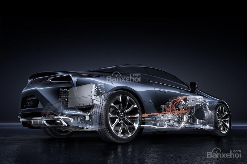 Hình ảnh chi tiết của Lexus LC 500h 17
