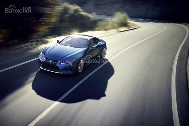 Hình ảnh chi tiết của Lexus LC 500h 4